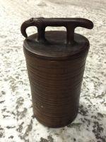 Глиняный горшок с крышкой-слон. 1литр